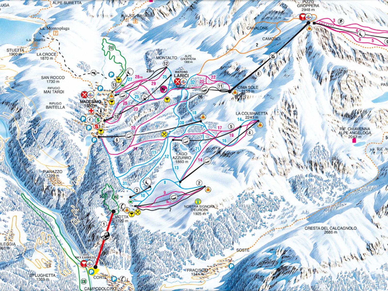 Bild von Skigebiet Comer See