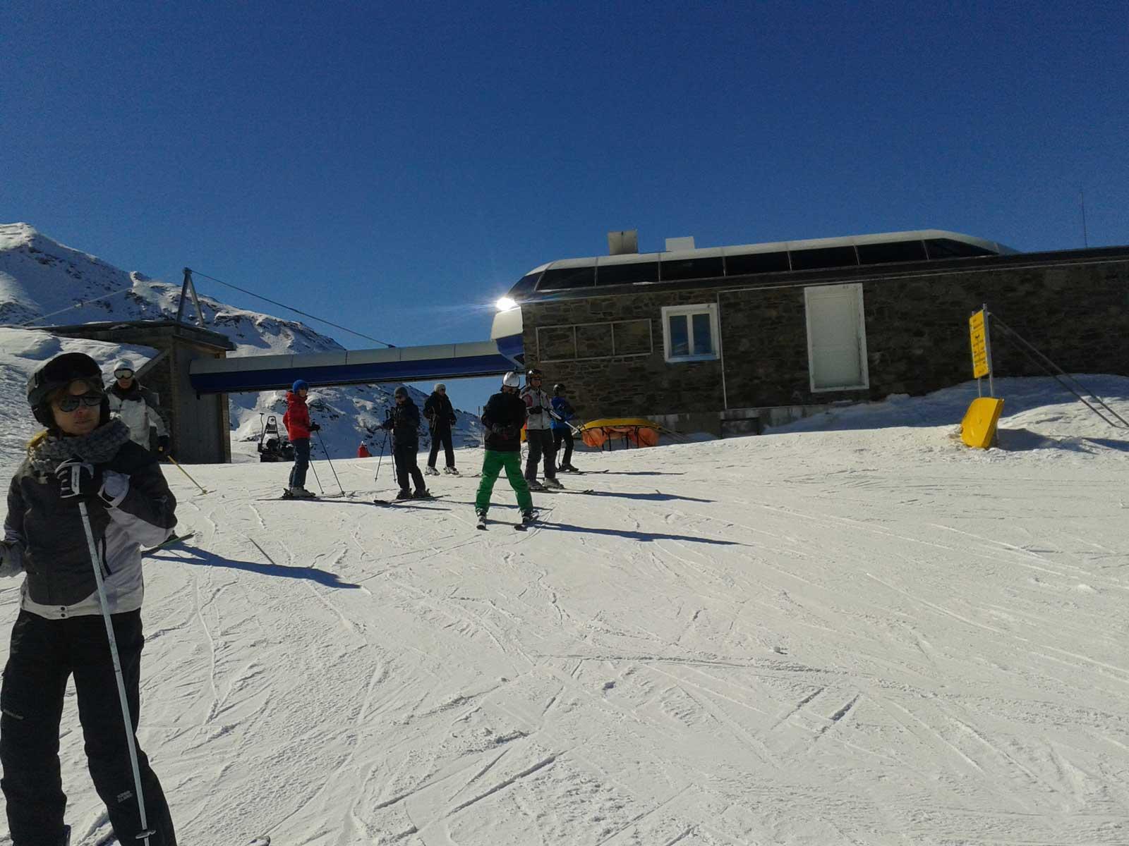 Bild von St.Moritz skifahrten