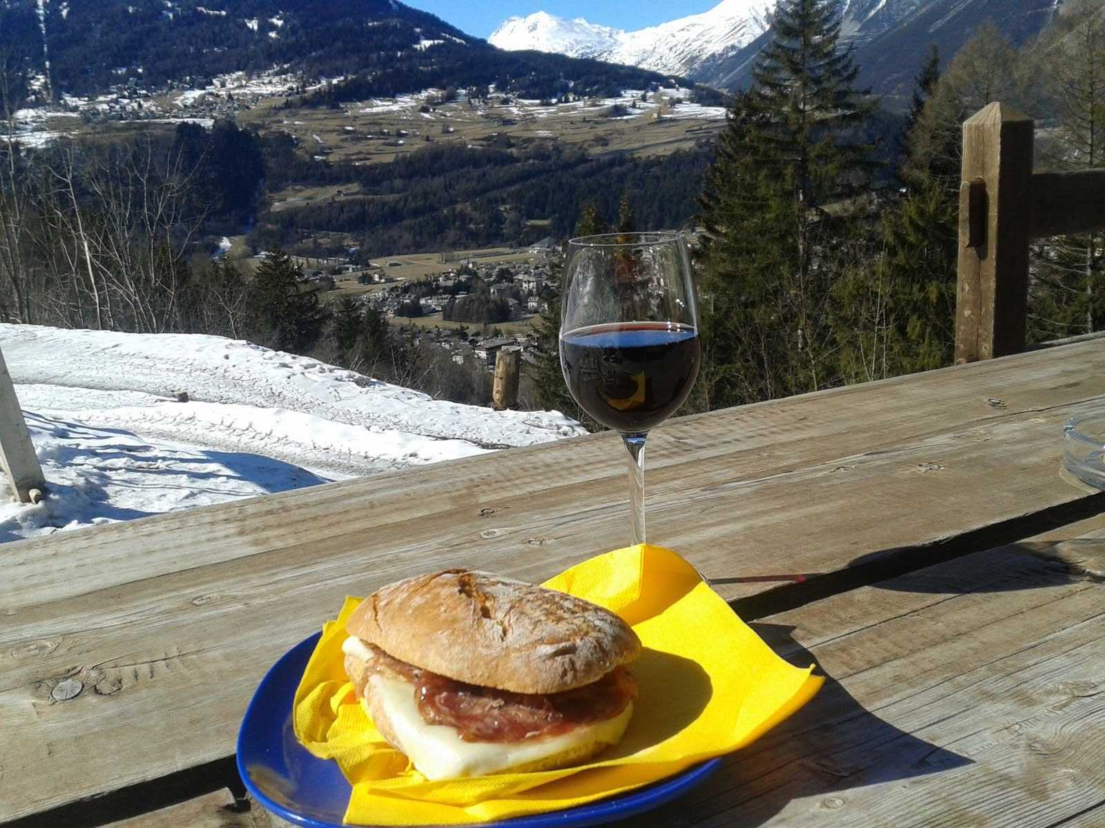 Bild von Skihütte