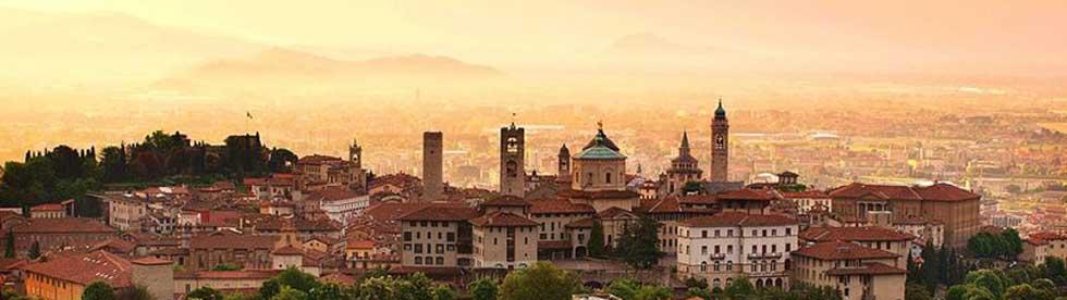 Bild von mit dem Auto von Domaso nach Bergamo