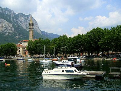 Bild von Schönster Ort am Comer See Lecco