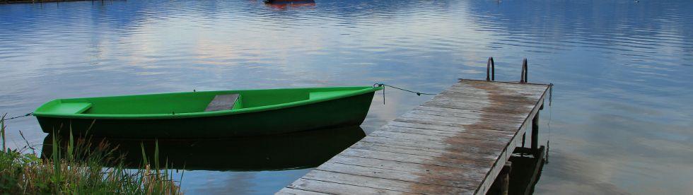 Bild von Ferienhaus mit Bootssteg | Ferienhaus am See