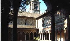 Bild von Abtei von Piona am Comer See in Italien
