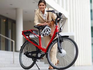 Bild von mit Elektofahrrad am Comer See unterwegs