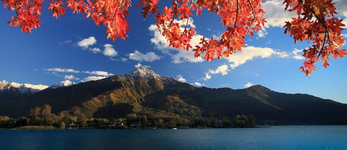 Bild von Ferienwohnungen Herbsturlaub Comer See