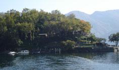 Bild von Isola Comacina am Comer See in Italien
