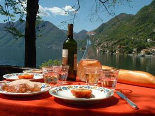 Bild von Italien Spezialitäten in Comer See-Restaurant