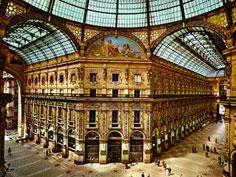 Bild von Galleria Vittorio Emanuele am Comer See in Italien