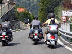 Bild von Motorrad rund um den Comer See