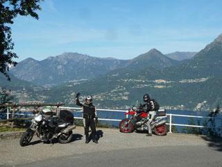 Bild von Motorradtour am Comer See
