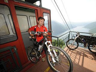 Bild von Mountainbike Radtouren Comer See