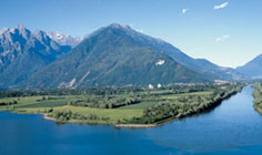 Bild von Naturschutzgebiet Pian di Spagna am Comer See in Italien
