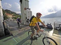 Bild von Radsport rund um den Comer See