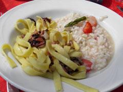 Bild von Gastronomie und Rezepte der einheimischen Küche des Comersee