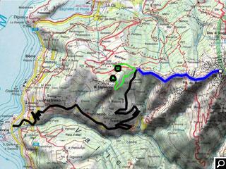 Bild von Bergtour Direttissima Legnone Comer See