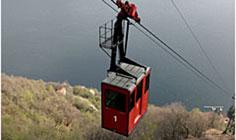 Bild von Seilbahn Argegno Pigra am Comer See in Italien