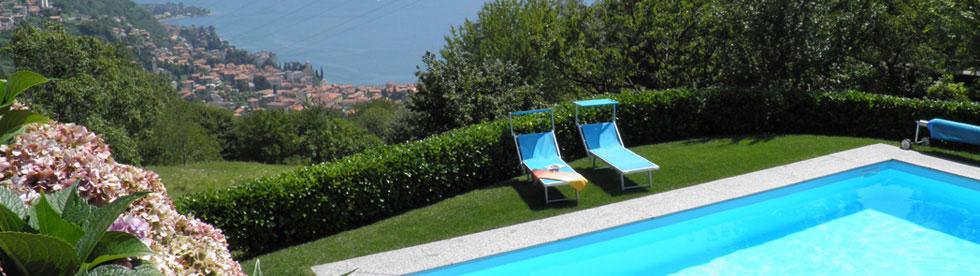 Bild von Ferienwohnungen/Ferienhäuser mit Pool für den Urlaub am Comer See
