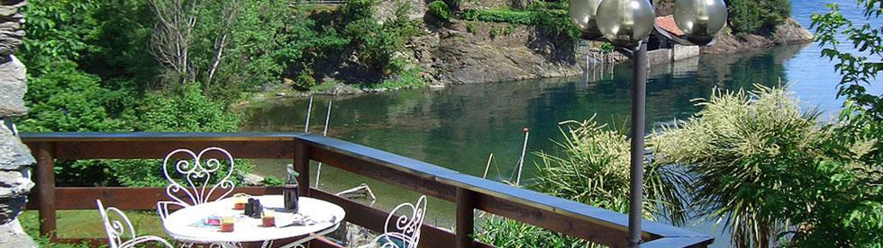 Bild von Ferienwohnungen und Ferienhäuser direkt am See für den Urlaub am Comer See