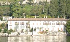 Bild von Villa Monastero am Comer See in Italien