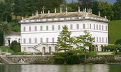 Bild von Villa Melzi am Comer See in Italien