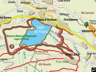 Bild von Wander-Tour Lago di Piano