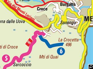 Bild von Wander-Touren Monti di Nava und La Crocetta am Comer See