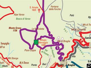 Bild von Wander-Tour Rifugio Menaggio Comer See