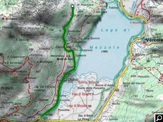 Bild von Wander-Tour Laghetto Peschiera Comer See