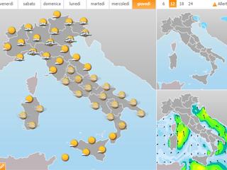 Bild von Wetterprognose Lombardei