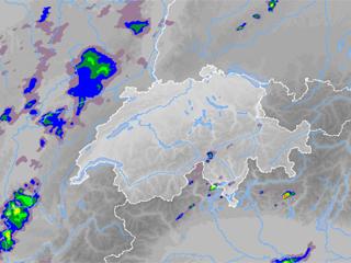 Bild von Niederschlagsradar-Bilder Comer See