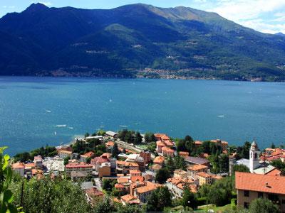 Bild von Baden in Bellano am Comer See